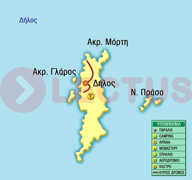 Χάρτης - Δήλος