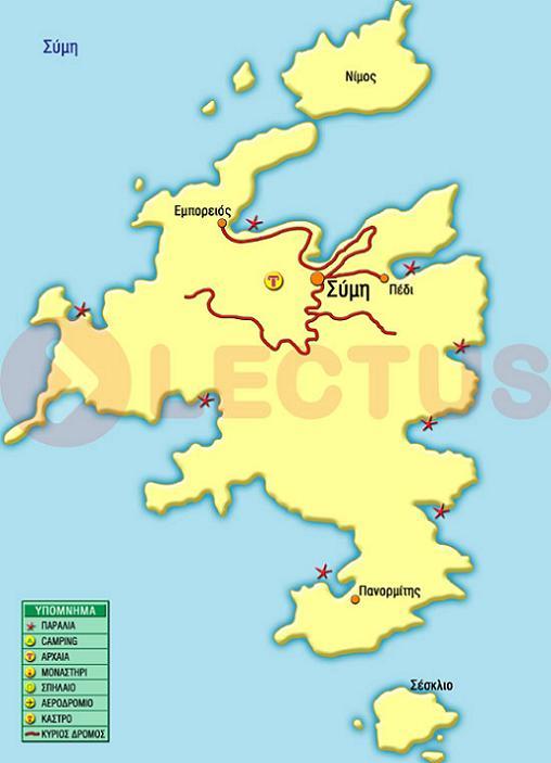 Χάρτης - Σύμη